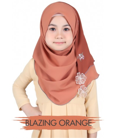 Tudung Sarung Kids Everly Kate Embroidery 2.0