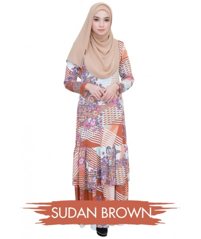 Baju Dress Luna