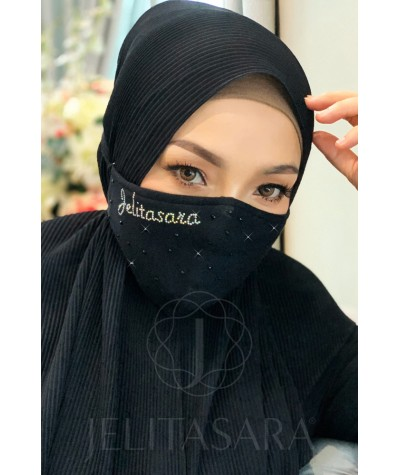 Jelitasara Reusable Mask Exclusive (Without Black Diamond)